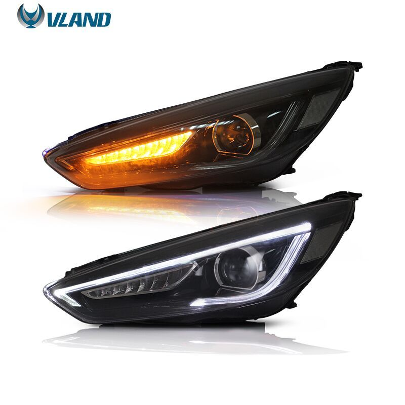 Vland Carlamp For Focus 2017 Led Head Lamp Headlights Focusheadlight Focusheadlamp Focusheadlights