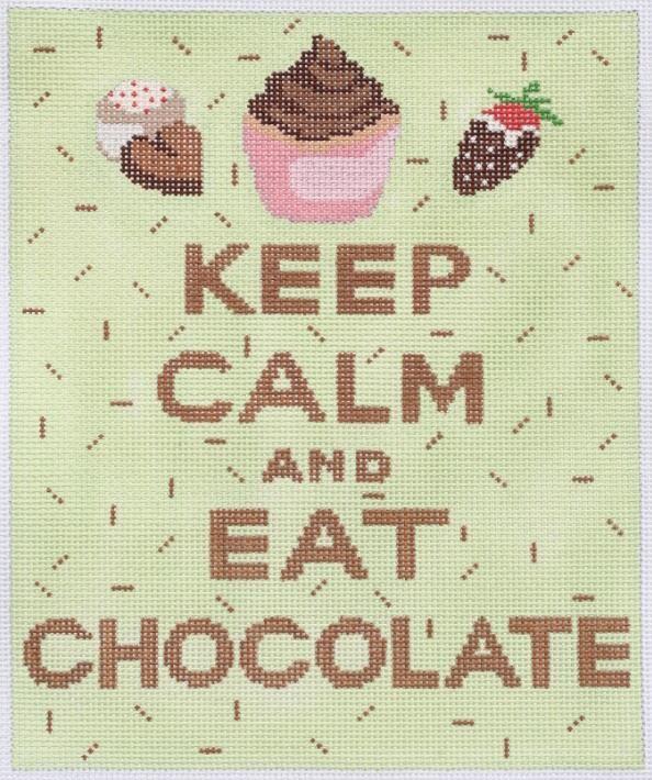 "Kate Dickerson  ""Keep Calm & Eat Chocolate"""