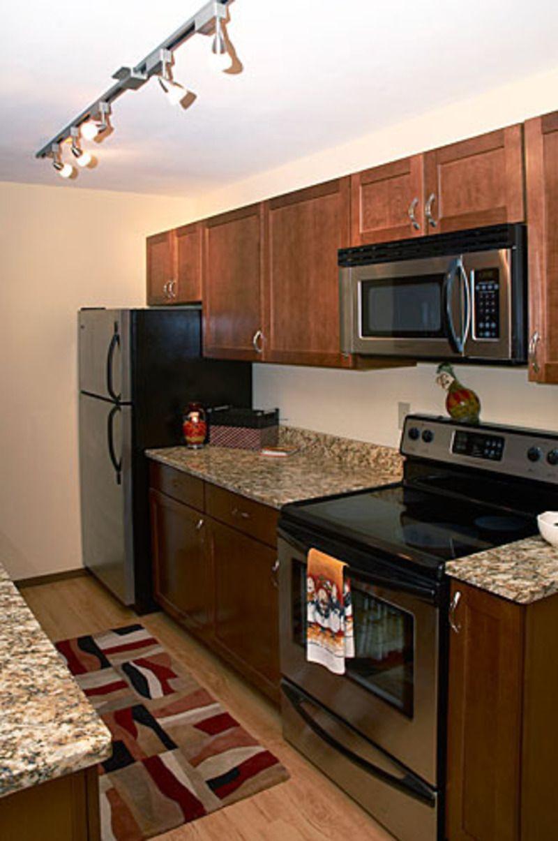 small narrow kitchens condos | Small Condo Kitchen, small condo ...