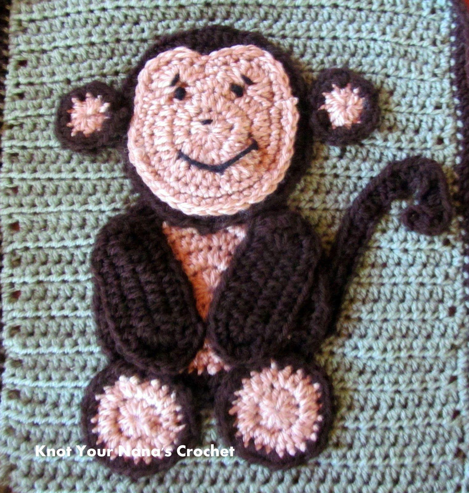 Crochet Animal Appliques Tiger Applique Animal Appliques Are