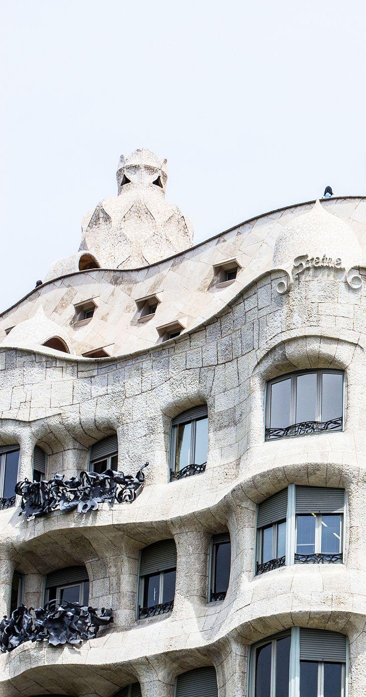 Casa Milà/La Pedrera, Barcelona.