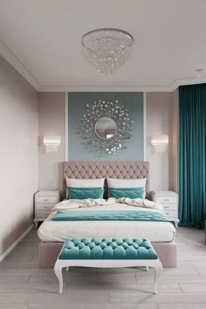 27+ Wonderful Small Bedroom Ideas For Couples #bedroomdecor #bedroomdesign #bedroomideas ~ Beautiful House #girlsbedroom