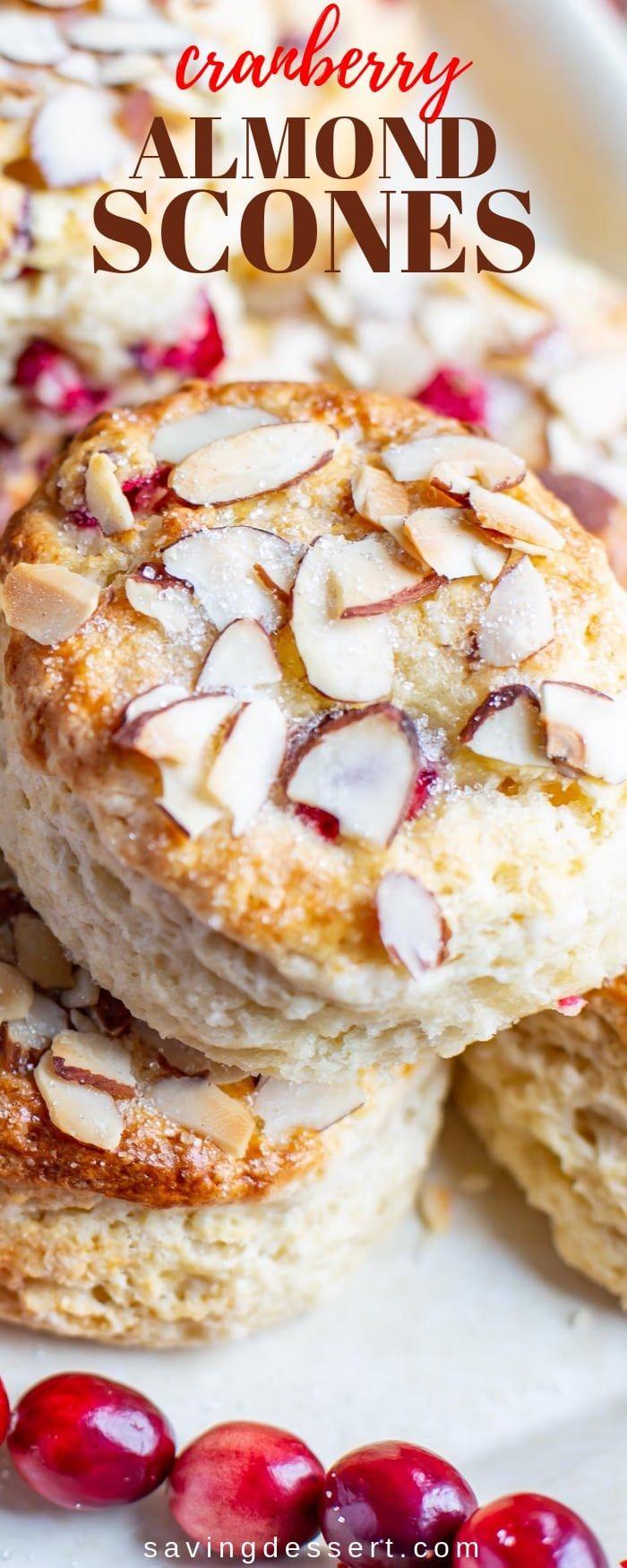 Almond Cranberry Scones #frühstückundbrunch