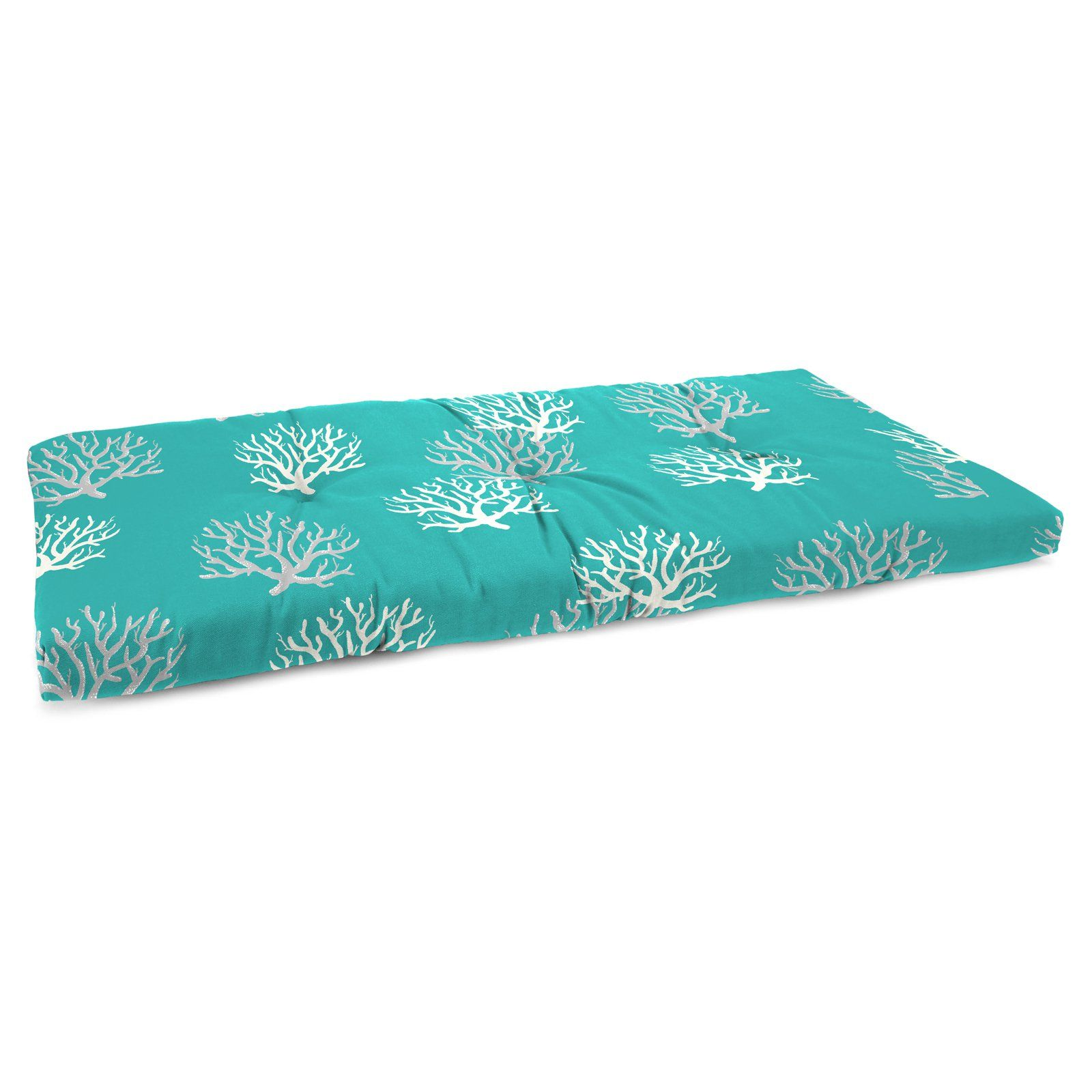 Jordan Manufacturing 38 In Boxed Outdoor Bench Cushion Isadella