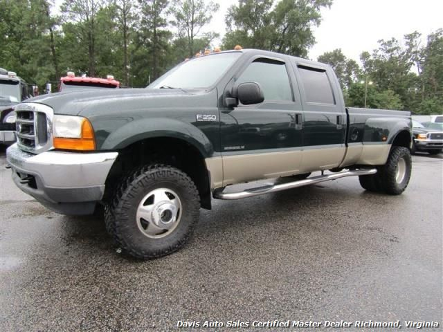 Used 2001 Ford F 350 Super Duty Lariat 7 3 4x4 Dually Crew Cab