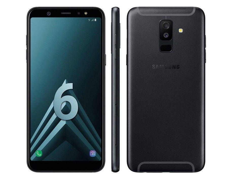 Soldes Smartphone Leclerc Samsung Galaxy A6 Noir Pas Cher Avec
