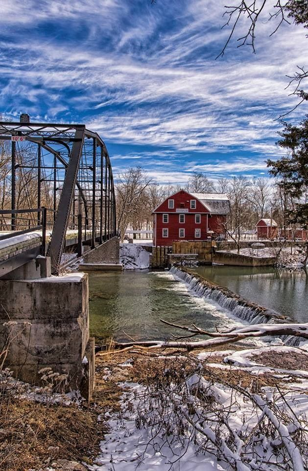 War Eagle Mill in NW Arkansas by Michael Buffington