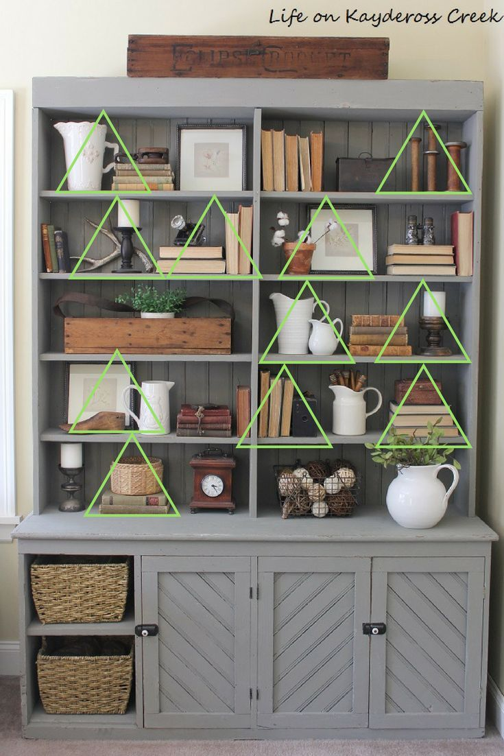10 Tips For Decorating Shelves Like a Pro is part of  - 10 tips for decorating shelves like a pro  With some planning and practice you'll be able to decorate those shelves in to time