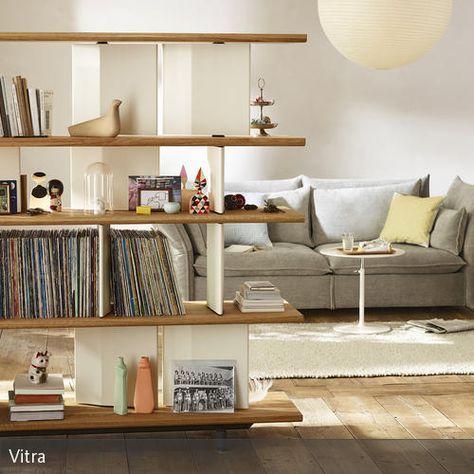 COUCHstyle. Offenes WohnzimmerSchallplattenRaumteiler PlatzSchlichtTeilchenKlassischRegalWohnzimer