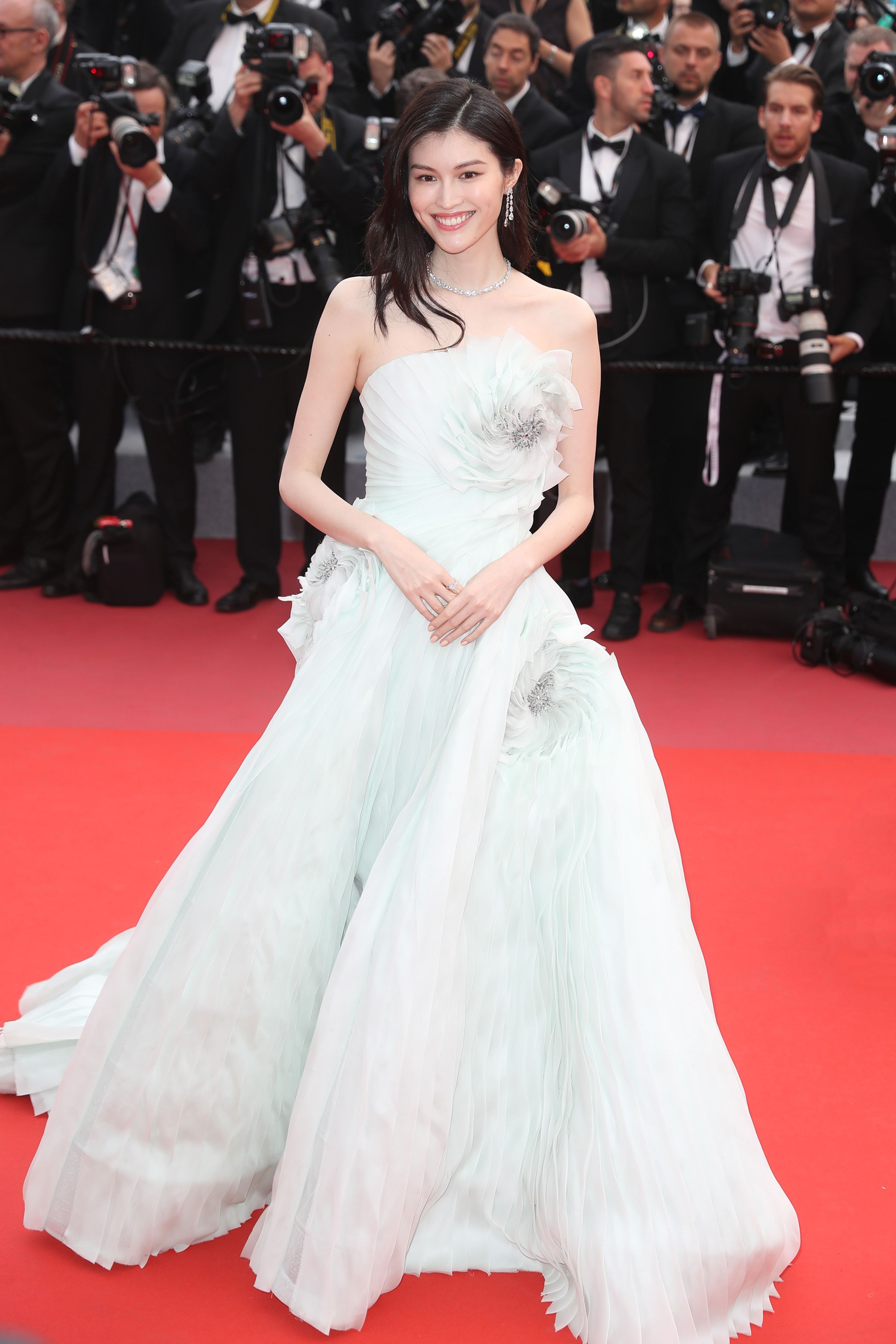 71st Cannes Film Festival Red Carpet - Sui He in Ralph   Russo  cannes   suihe d2244800e31