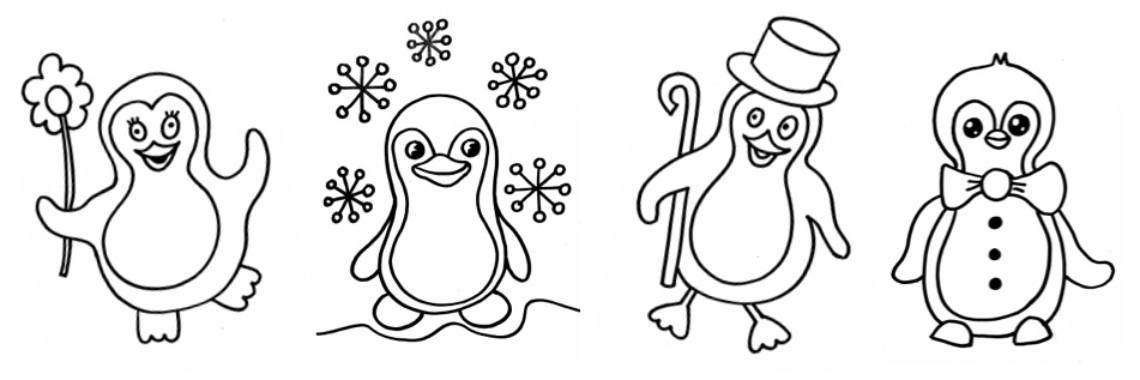 Quatang Gallery- Kleurplaten Pinguins In 2020 Kleurplaten Voor Kinderen Kleurplaten Voor Kinderen