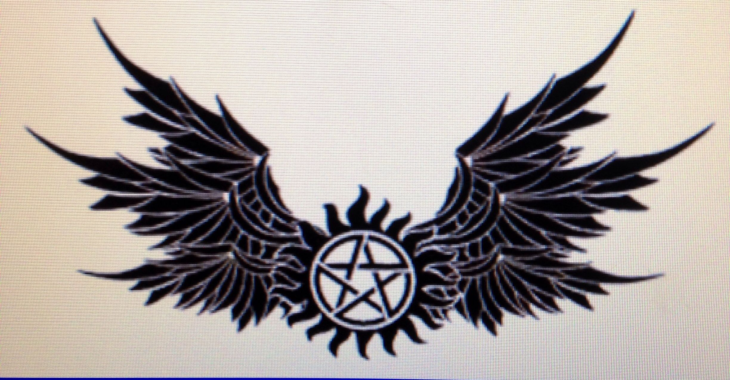Possible supernatural tattoo Tattoos and piercings