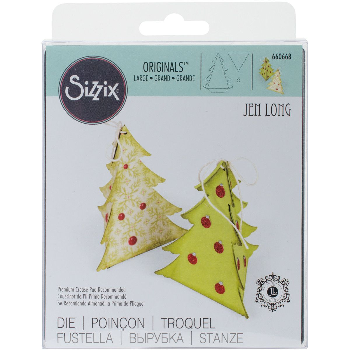 Sizzix Originals Die-Christmas Tree Box | Products | Pinterest ...