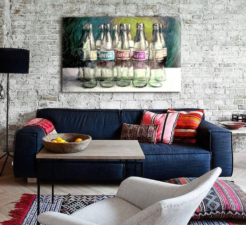 Cuadros modernos decorativos muebles pinterest - Cuadros abstractos para salon ...