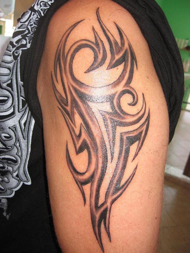 Masculine tattoos designs - 30 Best Tribal Tattoo Designs For Mens Arm