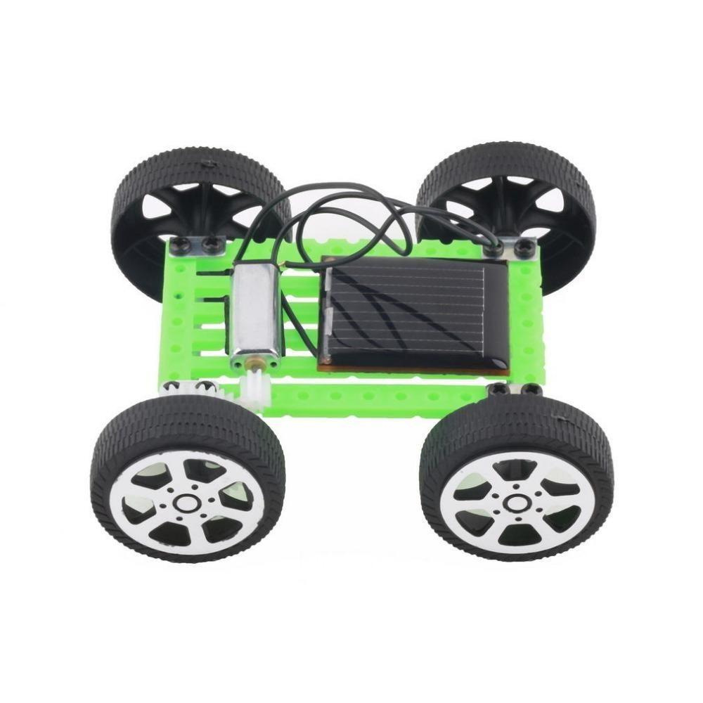 Car toys for toddlers  DIY Solar Toy Car Assemble Solar Vehicle Mini Solar Energy Powdered