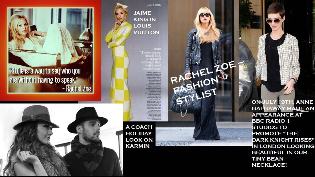 Rachel Zoe is a distinguished designer, stylist and editor renowned for her effortless take on glamour. Having immersed herself in fashion and design for nearly two decades, Rachel has been heralded as one of the most influential forces working in fashion today. She is known for her extensive influence in the fashion world and for her A-list clients.
