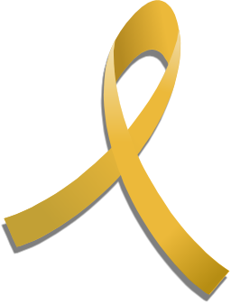 Gold Awareness Ribbon Childhood Cancer Awareness Childhood Cancer Awareness Month Brain Tumor Awareness