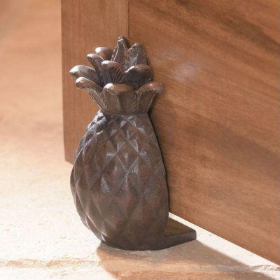 Pineapple Doorstop   Ballard Designs