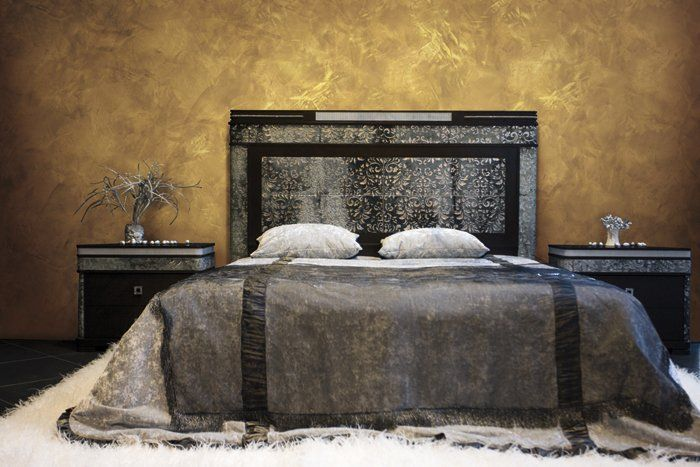Special Paint Faux Effect  Metallic Stucco Plaster For Wall Aureum Oikos By  Italian Design