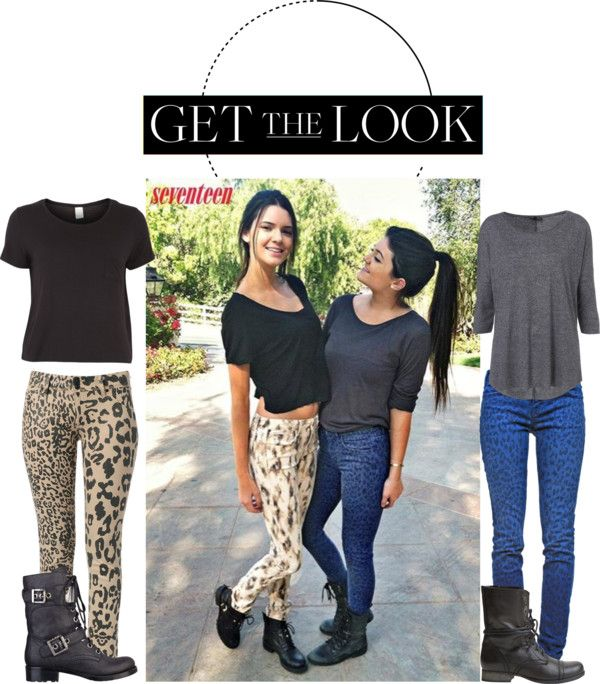 Style set: Kylie (right) and Kendall (left) Jenner, the sisters of the  Kardashians, have revealed their summer style essentials as fashion  contributors to ...
