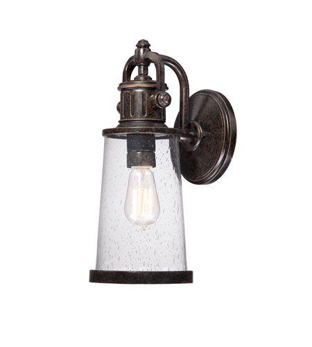 Quoizel Lighting Steadman 1 Light Outdoor Wall Lantern in Imperial Bronze SDN8407IB #quoizel