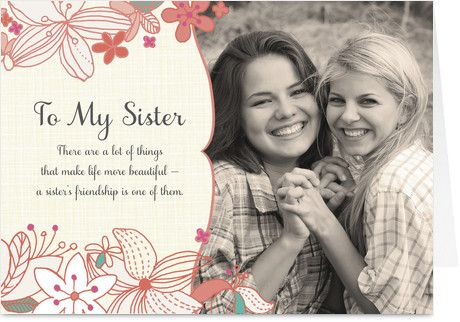 Happy Birthday Greetings Card For Sister – Happy Birthday Card for My Sister