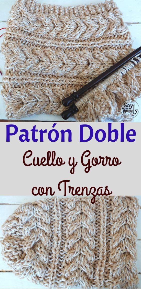 Moderno Gorrita Slouchy Patrón De Crochet Sombrero Cresta - Ideas de ...
