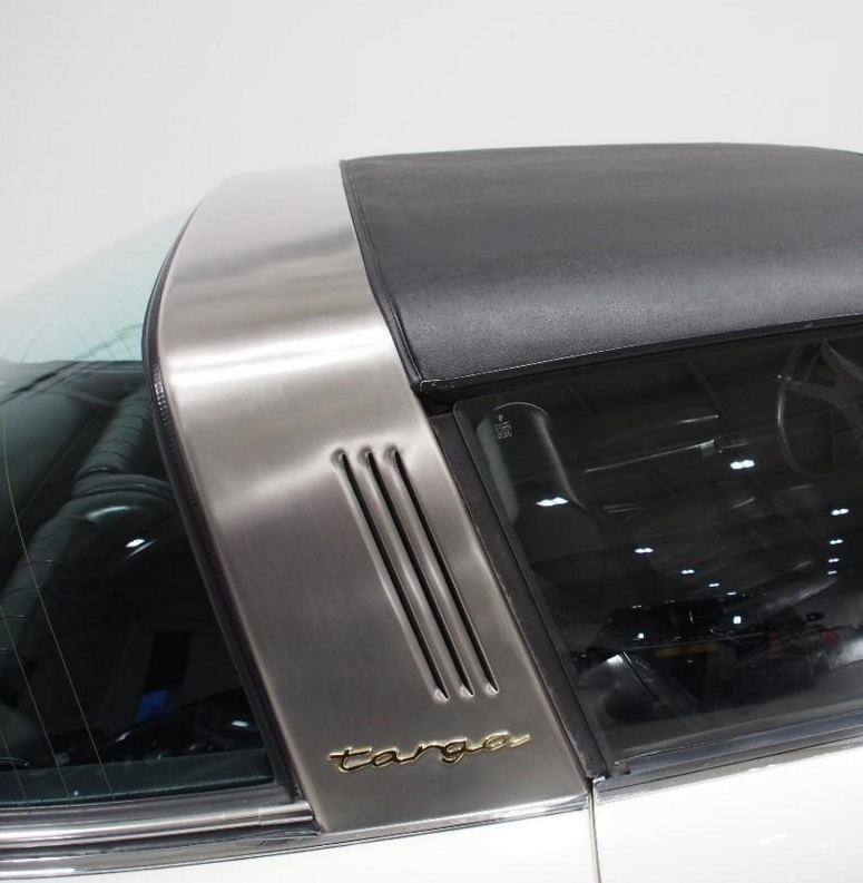 Always loved the Targa bar but check those louvers.....they are like shark gills !