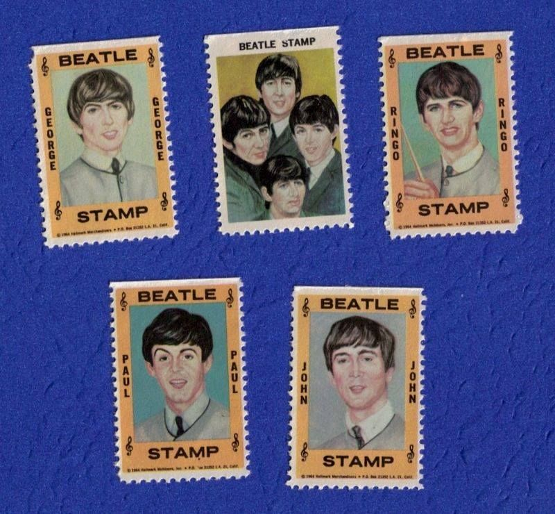Postage Stamps, 1964