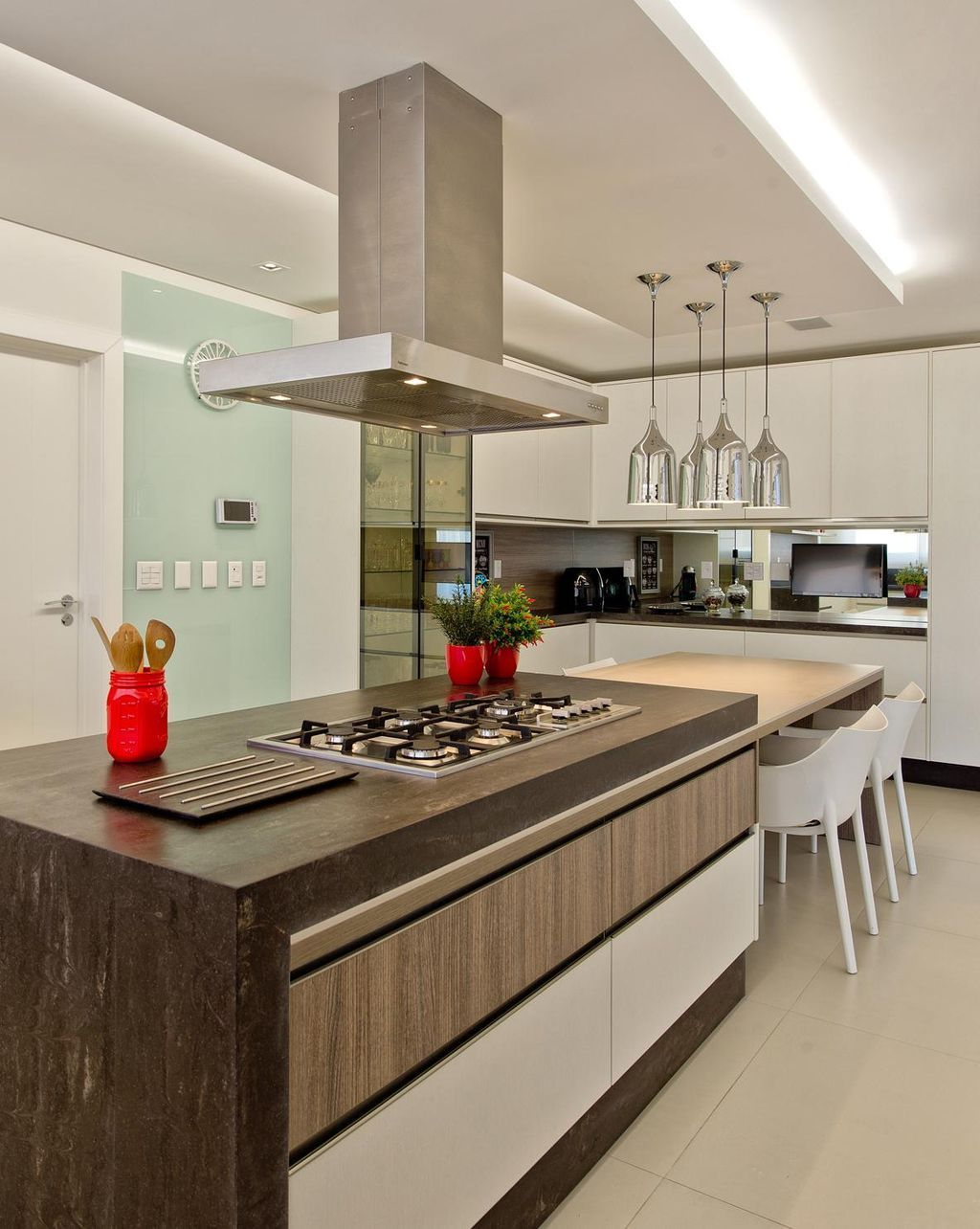 100 Cozinhas Com Ilha Central Projetos E Fotos Incr Veis