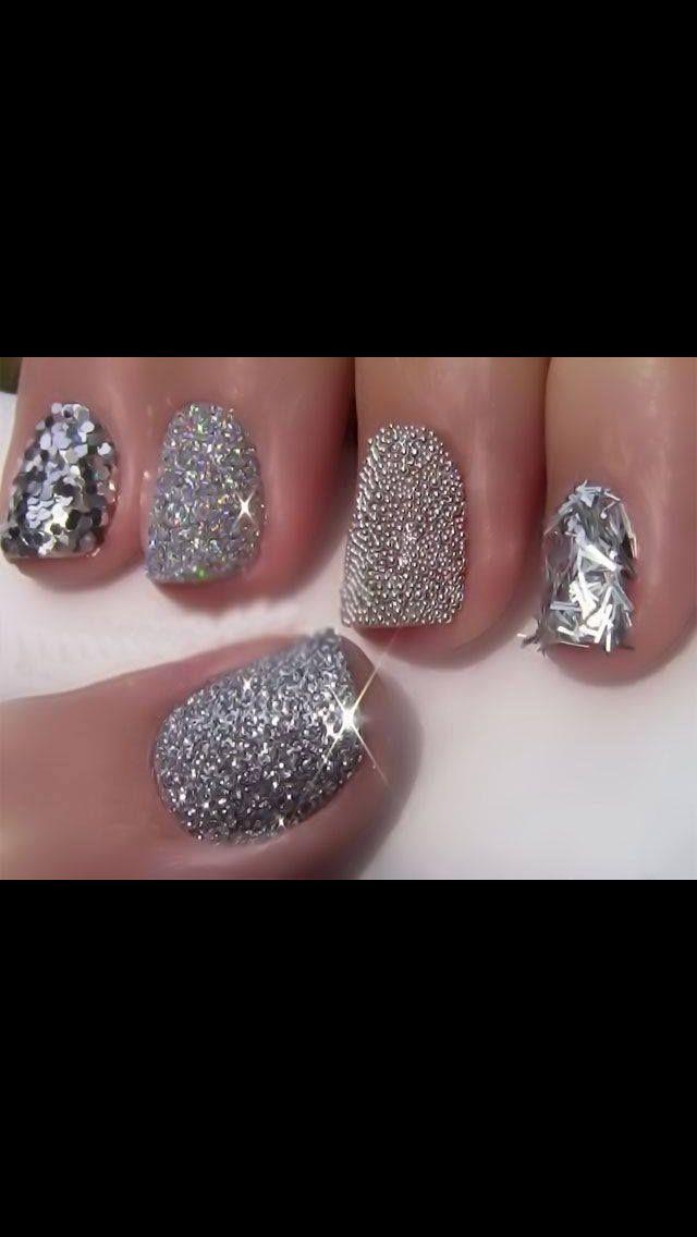 New Years nails | Smink och naglar | Pinterest | New year\'s nails ...