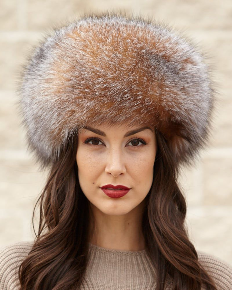 bc7ea3f35 Zhivago Crystal Fox Fur Pill Box Hat in 2019 | // Beautiful Women's ...