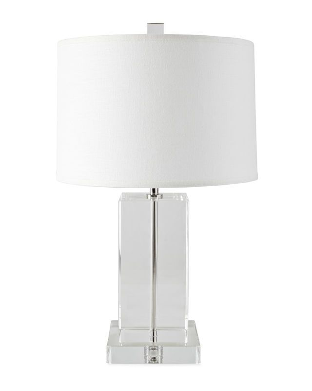 Darby crystal table lamp serena