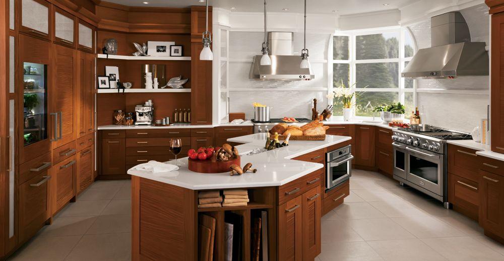 Shaker Stain Kitchen Remodel Contemporary Kitchen Luxury Kitchens