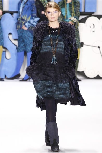#moda Anna Sui Collections Fall Winter 2012-13 collection