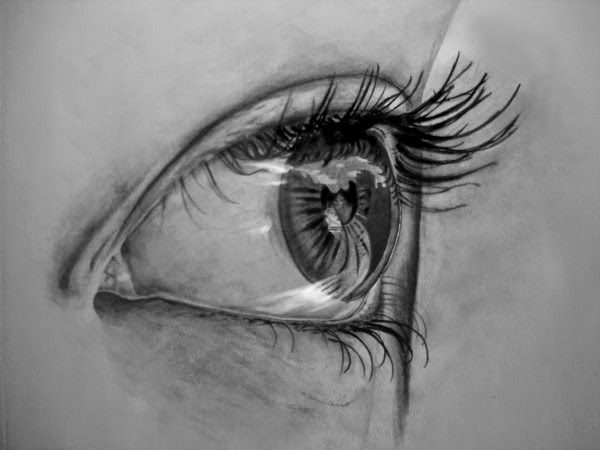 Eyes realistic eye drawing fine art blog fine art blog in india