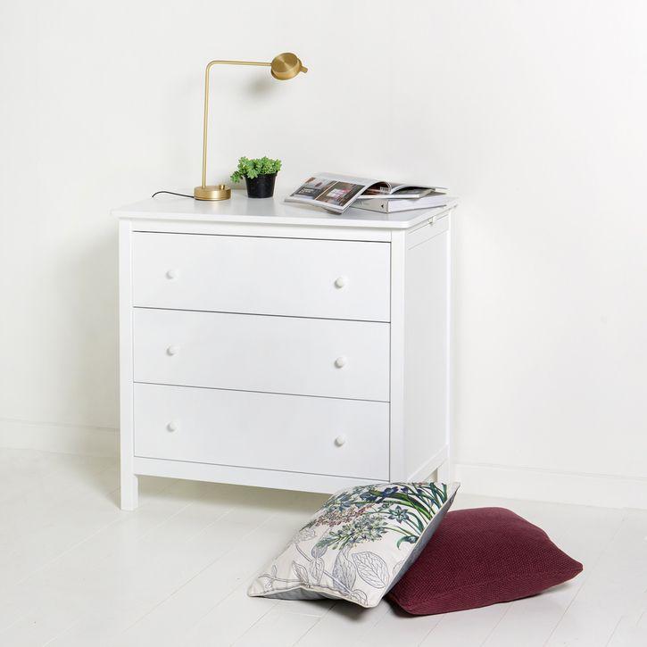 White Seaside Nursery Dresser by Oliver Furniture | Modern Baby ...