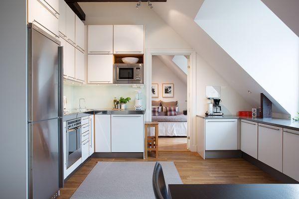 Tastefully Decorated Penthouse With Terrace Dachwohnung Dachzimmer Dachboden Renovierung