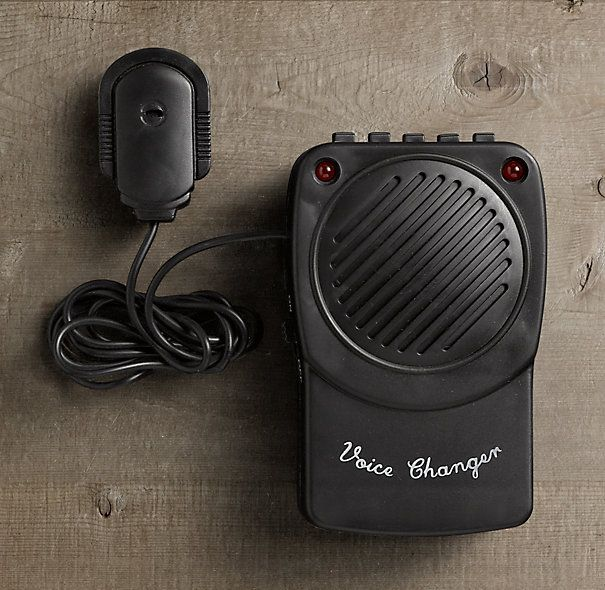 Voice Changer | Apartment & Home Office | Stocking stuffers