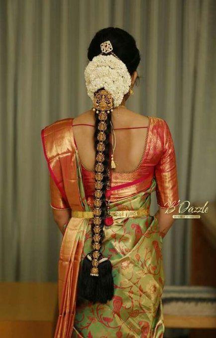 Hair Styles Wedding Indian Hairdos 38 Ideas Indian Bridal Hairstyles South Indian Wedding Hairstyles South Indian Bride Hairstyle