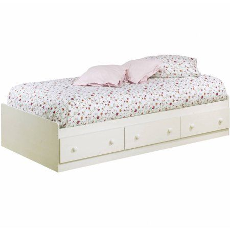 South Shore Summer Breeze Twin Storage Bed 39 With 3 Drawers