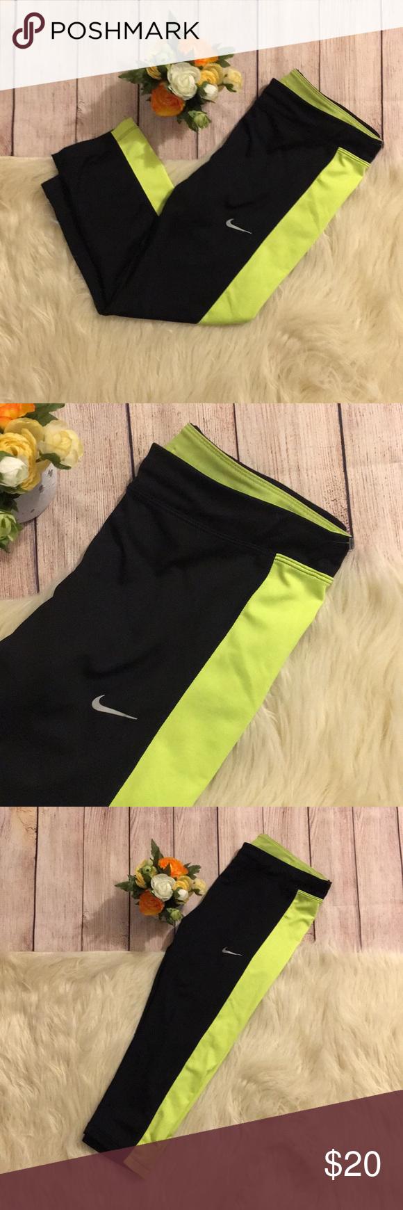 Nike Dri Fit Capri Yoga Leggings | Yoga leggings, Nike dri ...