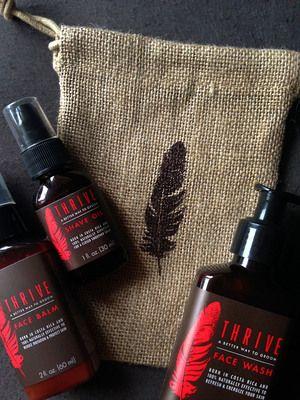 Thrive Skincare Set For Men Thrivecare Co Skin Care Natural Care Skincare Set