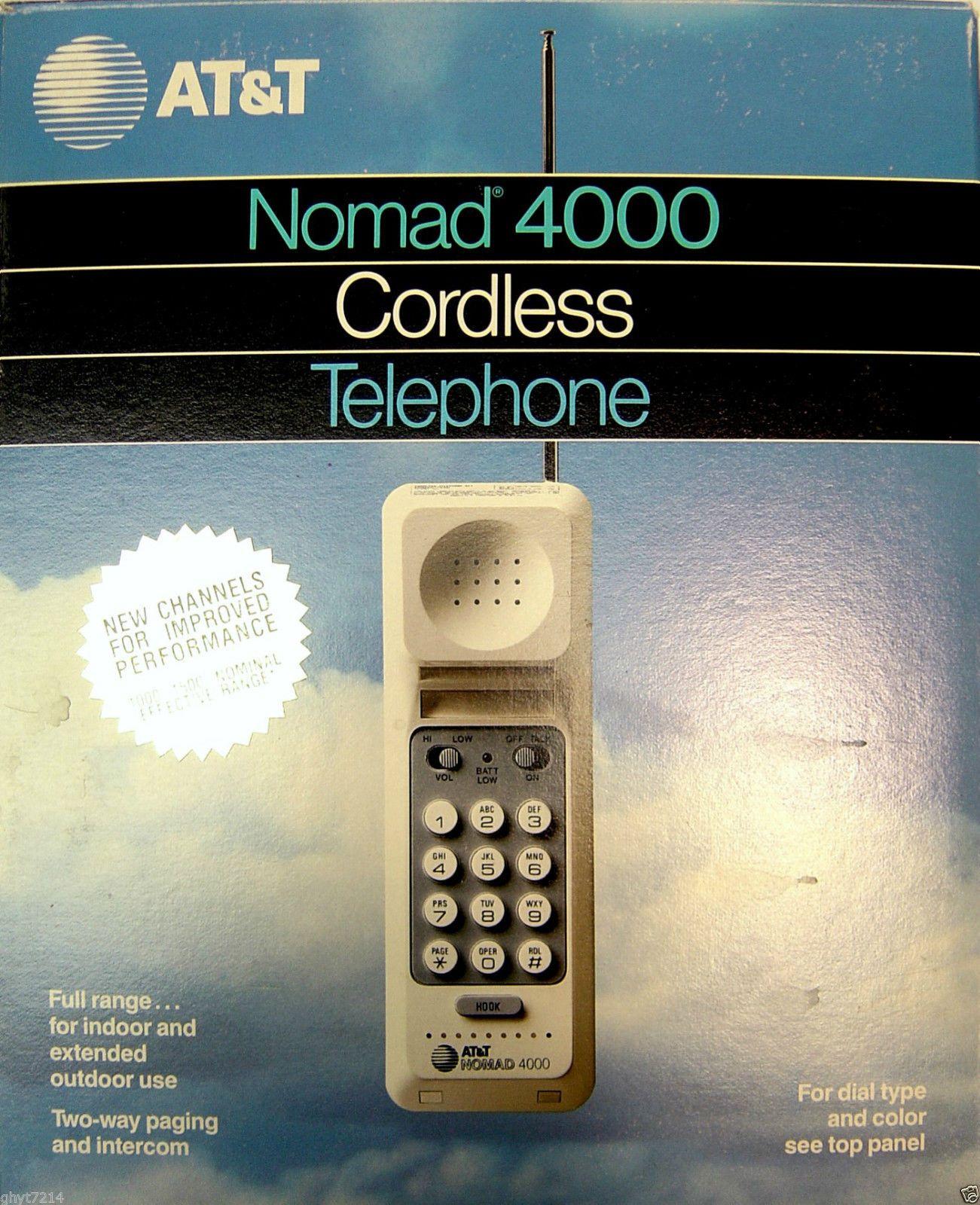 http://www.ebay.com/itm/VINTAGE-1984-RETRO-NOMAD-4000-CORDLESS-AT-T-PHONE-INTERCOM-BASE-ONLY-/141733874073?hash=item20ffff4999