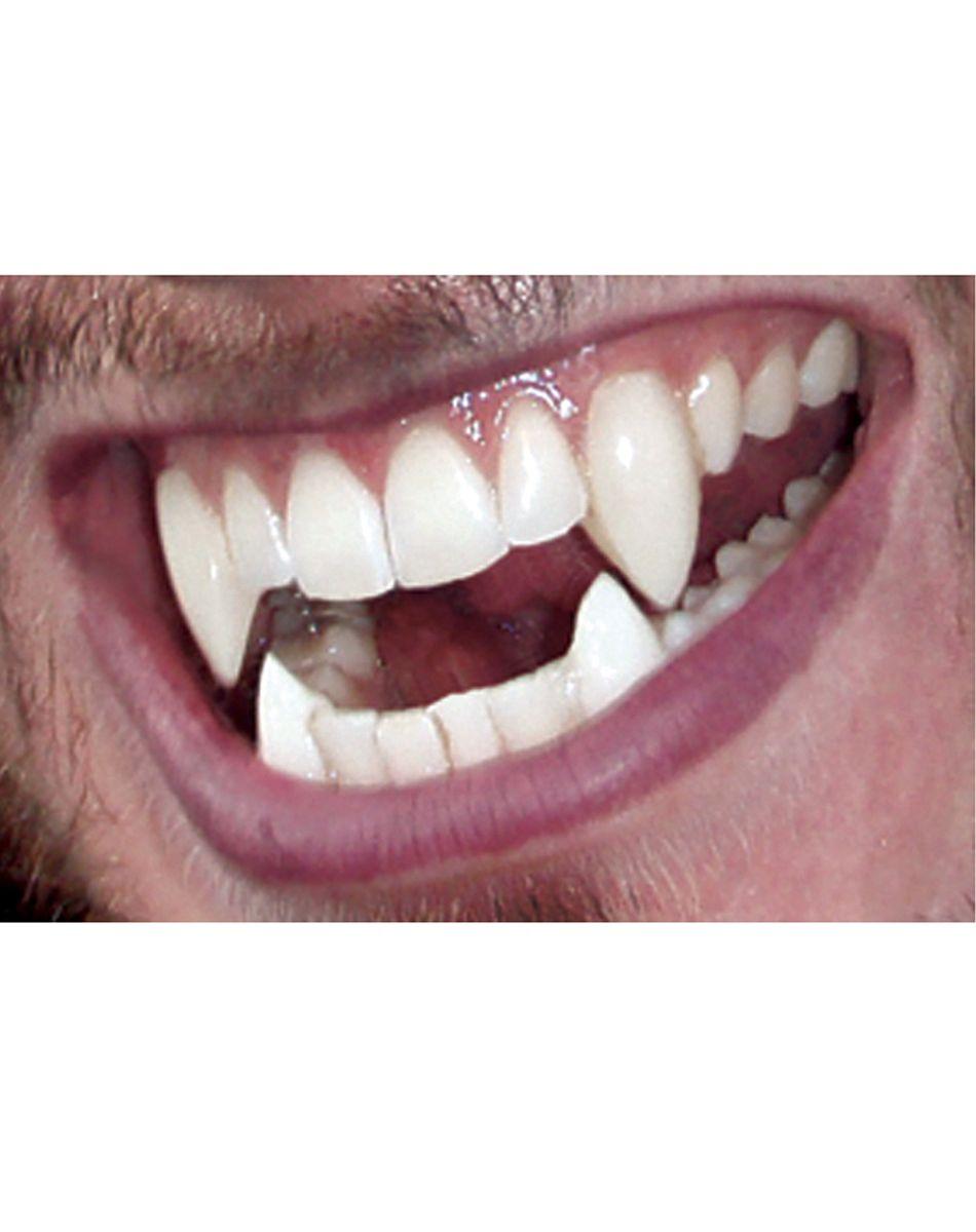 Adult Teen Wolf Werewolf Supernatural Fangs Prosthetic Halloween Costume Teeth
