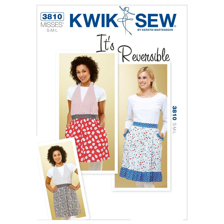 Mccall Pattern K3810 S - M - L - Kwik Sew Pattern