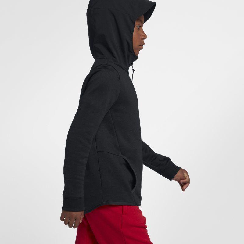 12b765b4687f Nike Air Max Older Kids (Boys ) Full-Zip Hoodie - Black