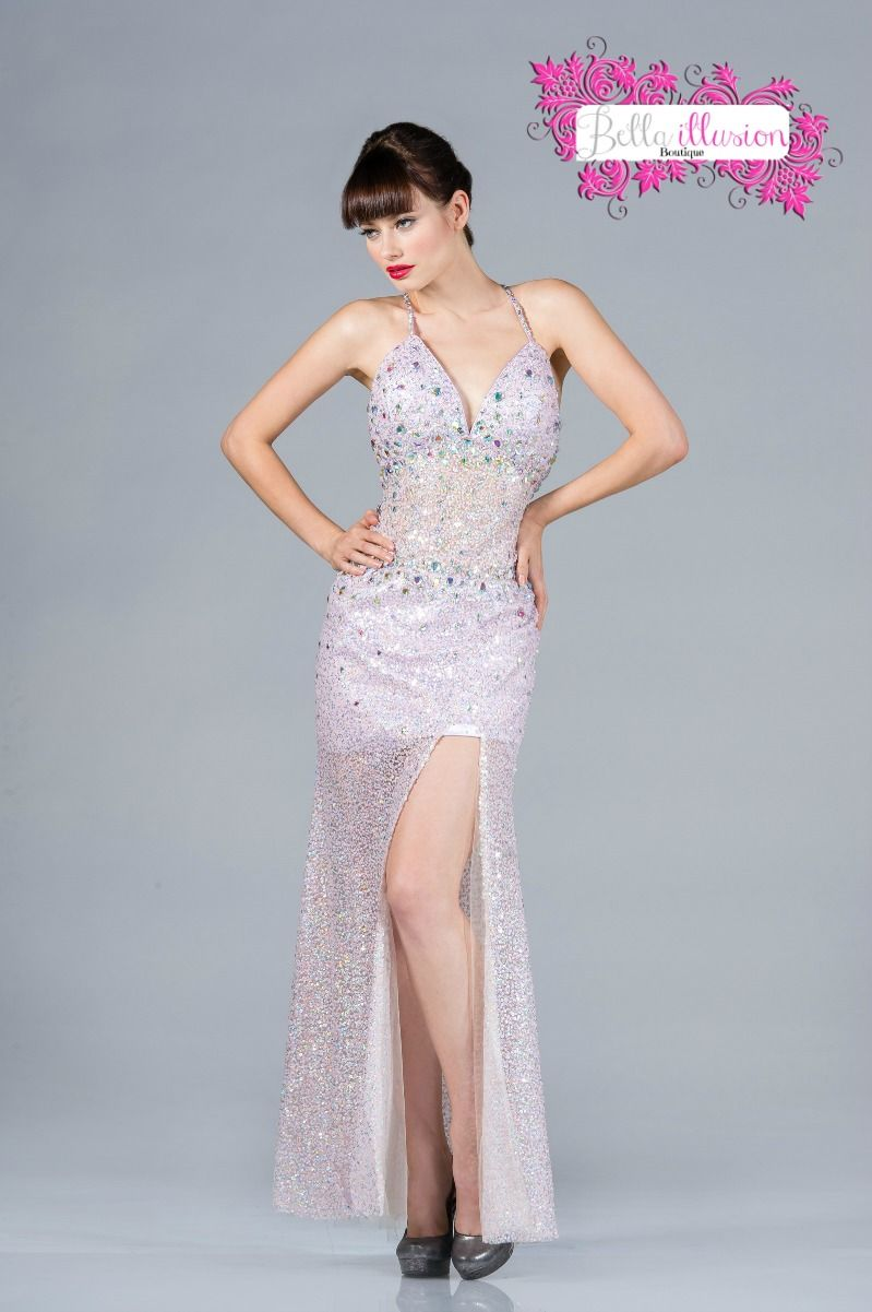 2013 Prom Dress CDJC890 Bella Illusion | Down For These Ballgowns ...