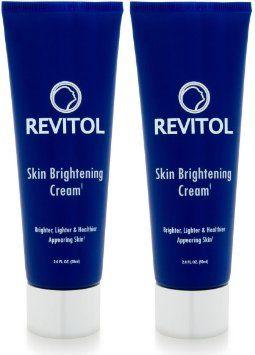Revitol Skin Brightening Cream Face Brightener 2 Tubes
